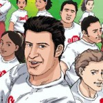 Luís Figo and the World Tuberculosis Cup